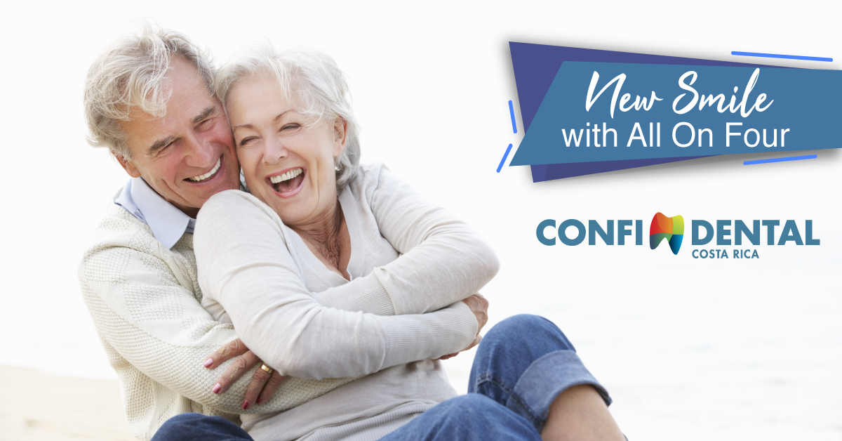 Get a radiant new smile with All-On-Four Dental Implants
